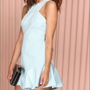 Finders Keepers Light Blue Dress